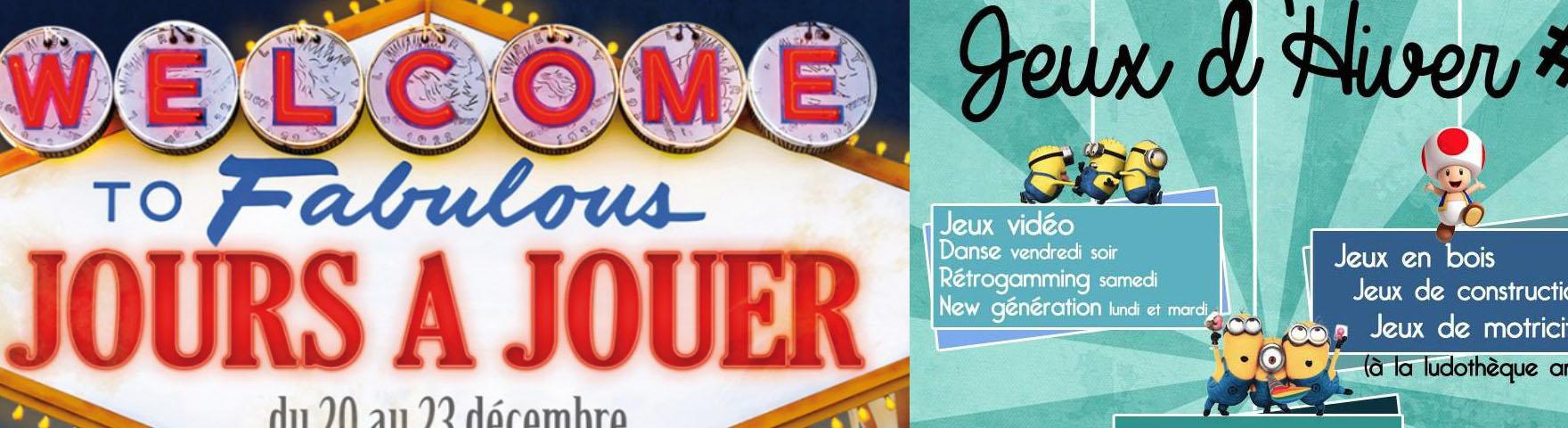 Jeux d'Hiver et Jours à jouer : Les jeux-vidéo à Angers !