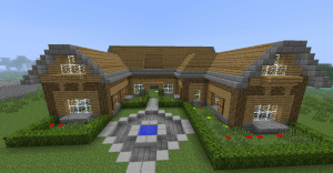 Manoir-minecraft-création-collaborative
