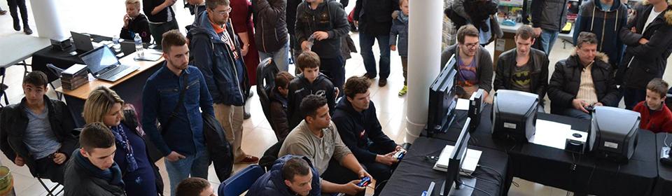 Animation jeux-vidéo au Festival Villers-Games (Normandie)